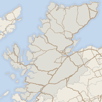 Map of house prices in Highland