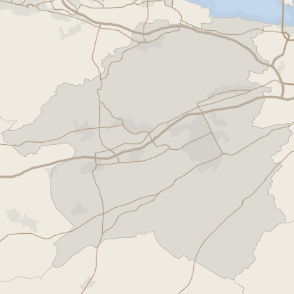 Map of house prices in West Lothian