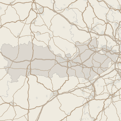 Map of house prices in Berkshire