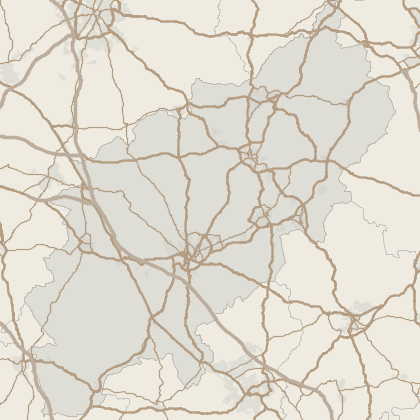 Map of property in Northamptonshire