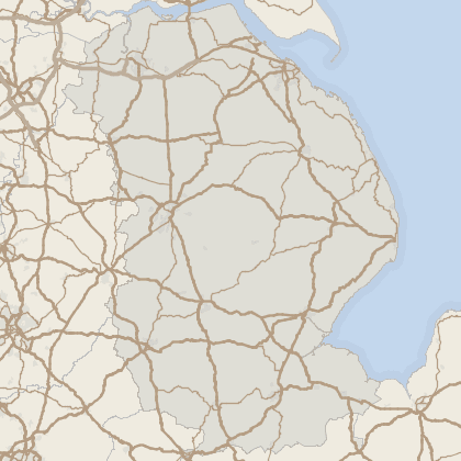 Map of property in Lincolnshire