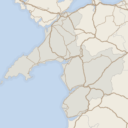 Map of house prices in Gwynedd