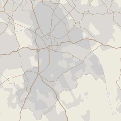 Map of house prices in Croydon