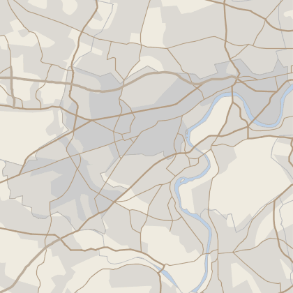 Map of house prices in Hounslow
