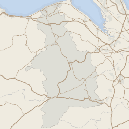 Map of property in Denbighshire