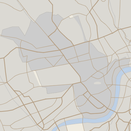 Map of property in Westminster
