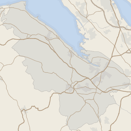 Map of property in Flintshire