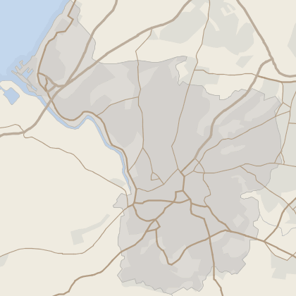 Map of house prices in Bristol (County)