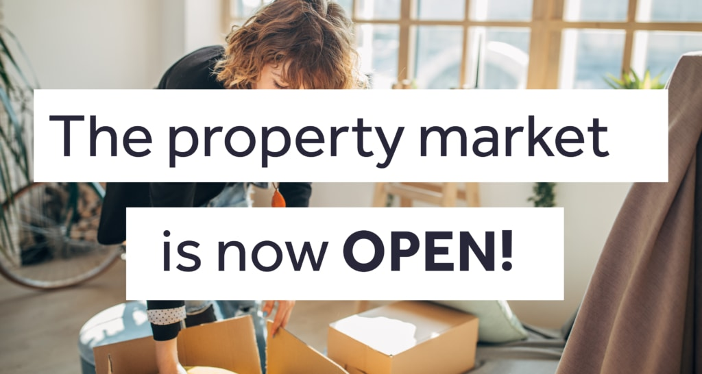 Property market is now open