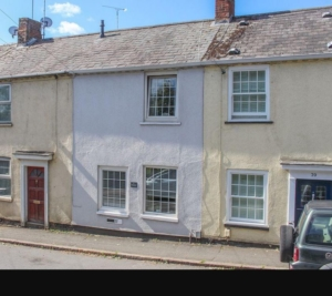 Take a look at the terraced house without a front door