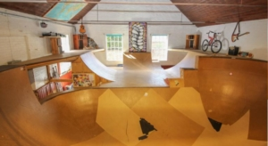 Inside the 3-bed semi that's hiding an INDOOR skatepark