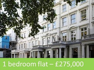 1 bedroom flat for sale – £275,000