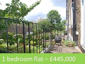 1 bedroom flat for sale – £445,000