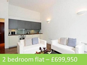 2 bedroom maisonette – £699,950