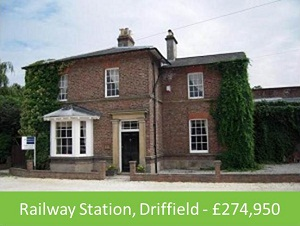 All aboard railway house for sale property blog for Railroad stations for sale