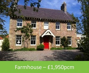 Farmhouse – £1,950pcm