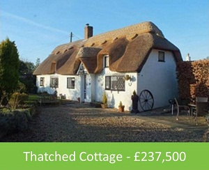 Thatched Cottage - £237,500