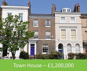Town House – £1,200,000