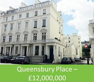 Queensbury Place – £12,000,000