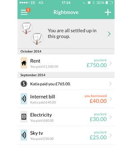 App of the Week – Splitwise | | Property blog