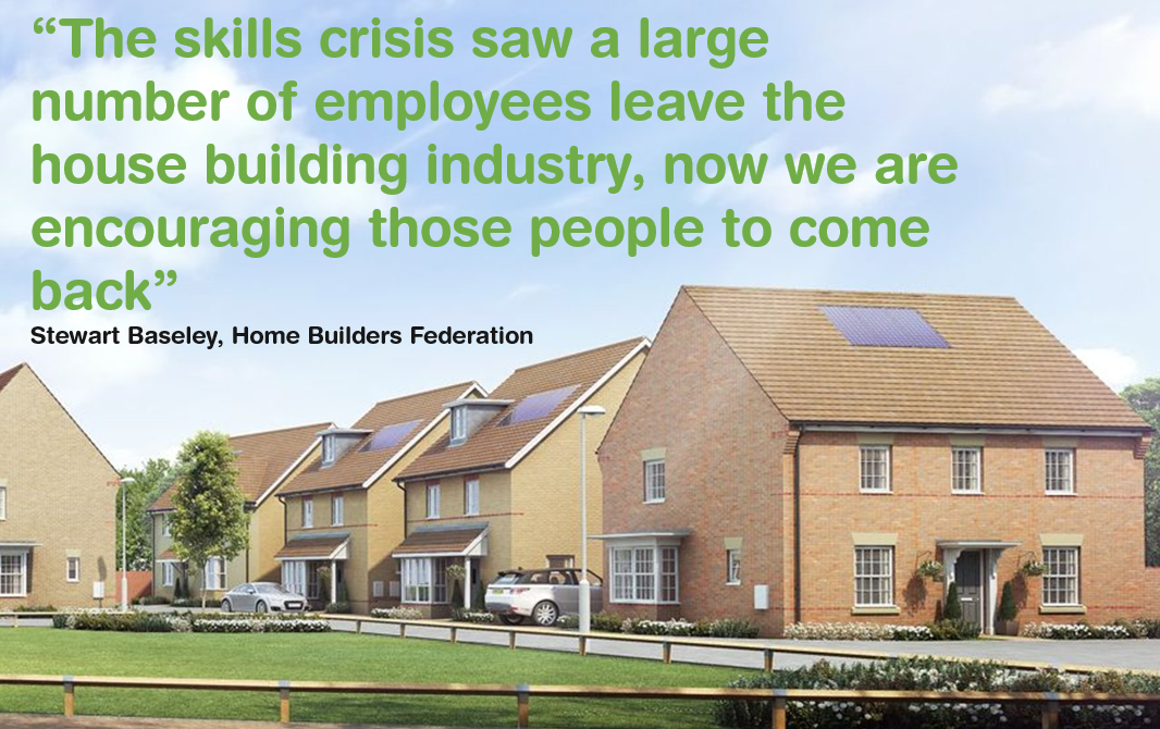 How the UK building industry is bridging the skills gap