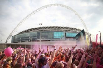 Wembley Events - The Color Run in Wembley Park. .Wembley Park is a residential, sports and entertainment district adjacent to Wembley Stadium and The SSE Arena.