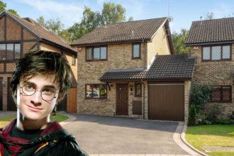 Harry Potter's Home 4 Privet Drive