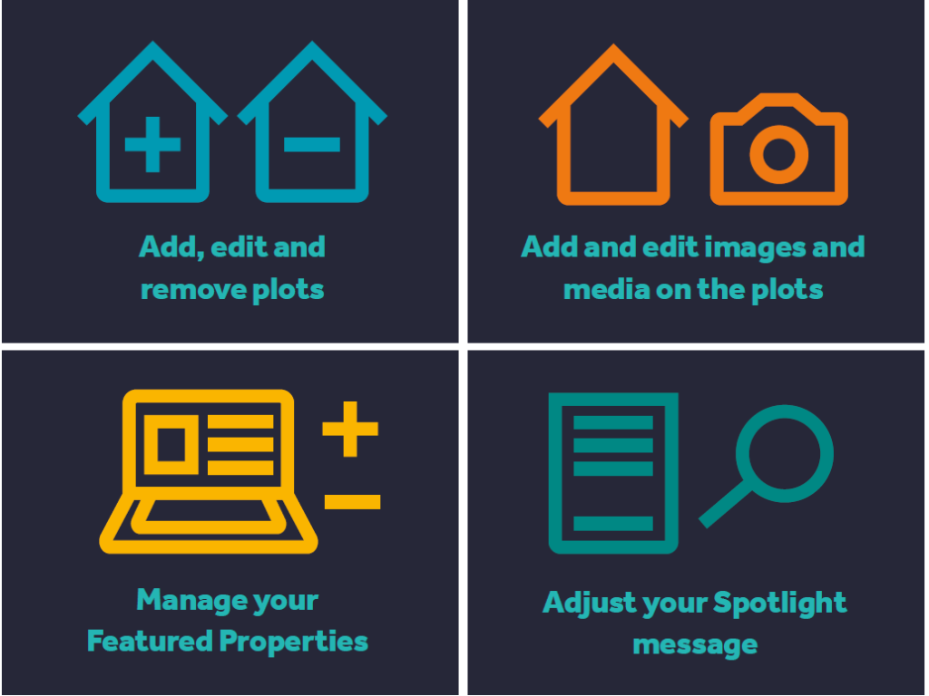React more quickly with Rightmove Admin when you need to make changes to your listings
