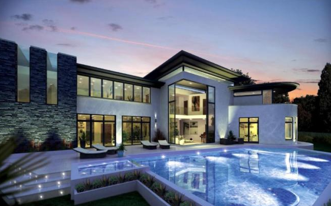 7 homes with wonderful swimming pools property news - Houses in england with swimming pools ...