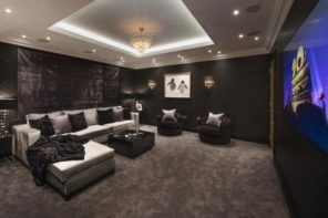 6 homes with spectacular cinema rooms!