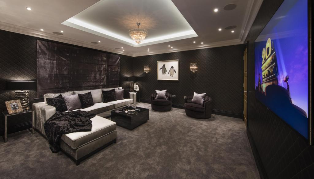 6 Homes With Spectacular Cinema Rooms Property News