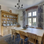 A traditional style country dining room