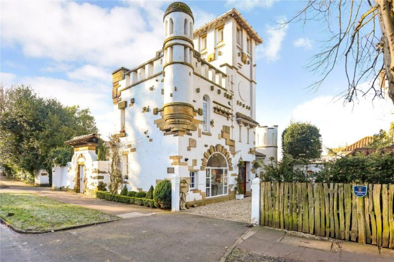 Explore the mini castle that could be yours for under £1million
