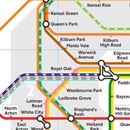 Rightmove Tube Map - Find Properties Near London Tube or Rail Stations