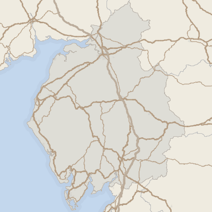 Map of property in Cumbria