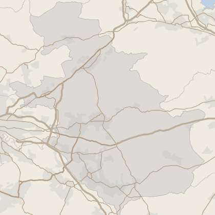 Map of property in North Lanarkshire