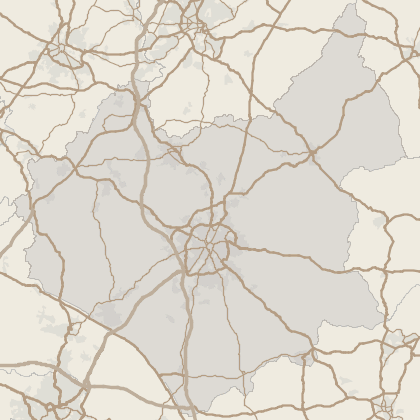 Map of house prices in Leicestershire