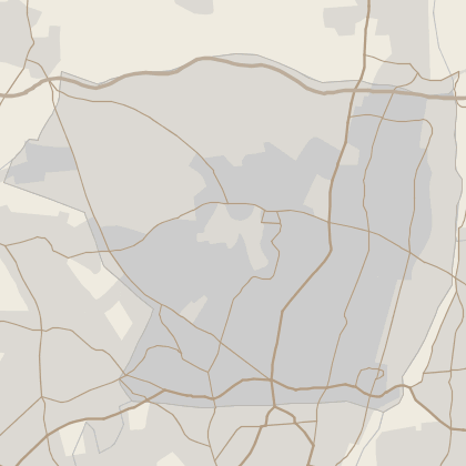 Map of house prices in Enfield