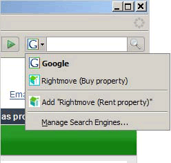 Rightmove search box