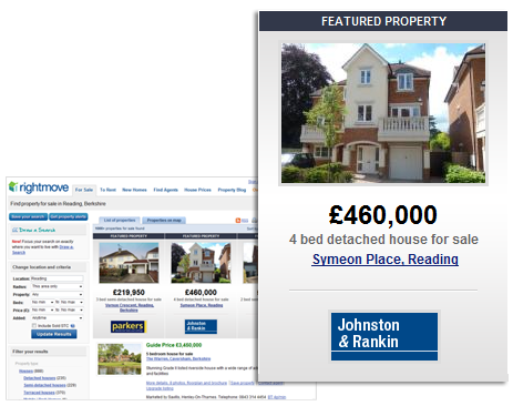 Rightmove Featured Property Listing