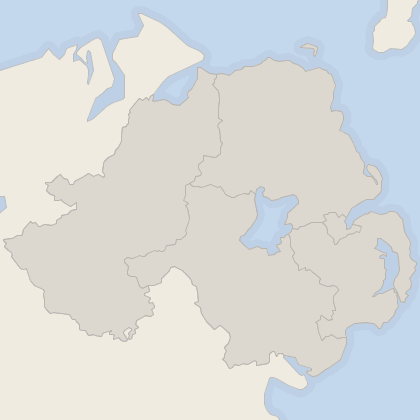 Map of property in Northern Ireland