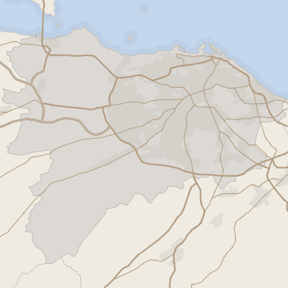 Map of property in Edinburgh (County)