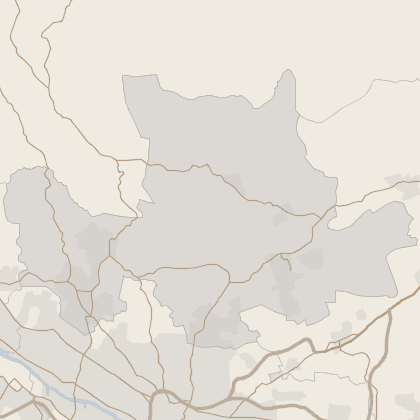 Map of property in East Dunbartonshire