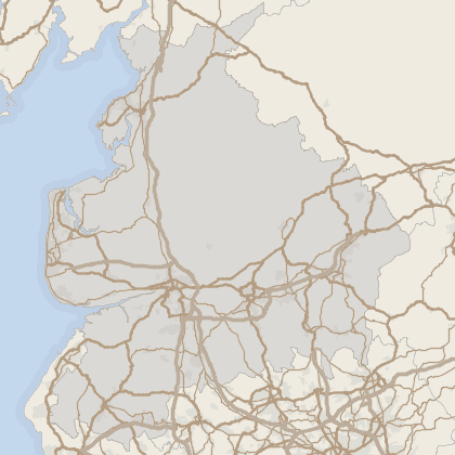 Map of property in Lancashire
