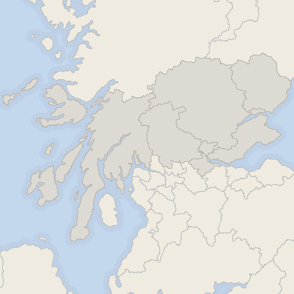 Map of house prices in Central Scotland