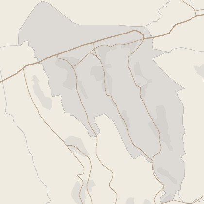 Map of property in Blaenau Gwent