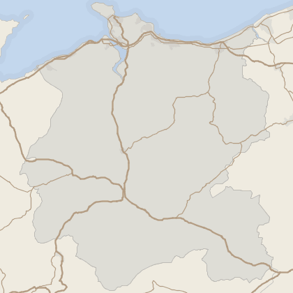 Map of property in Conwy (County of)