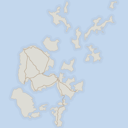 Map of property in Orkney