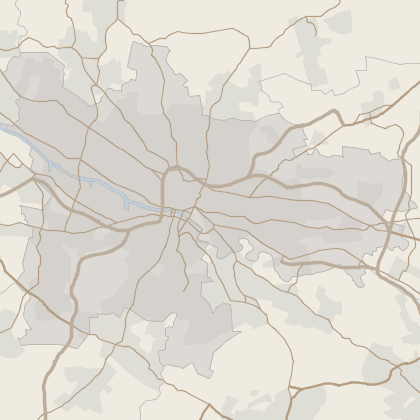 Map of property in Glasgow