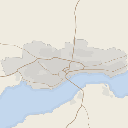 Map of property in Dundee (County)
